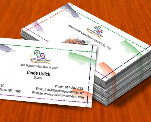 small business owner business card