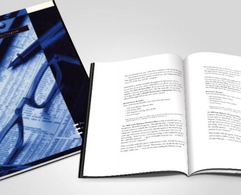 bifold brochure graphic design services