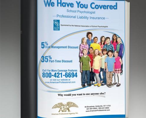 graphic design services print ad