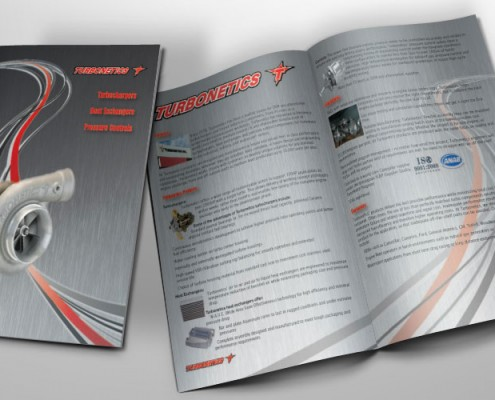 two fold brochure graphic design services