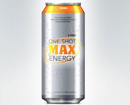 energy drink graphic design