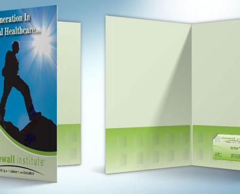 pocket folder graphic design