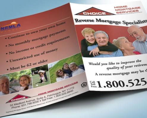 mortgage pocket folder graphic design