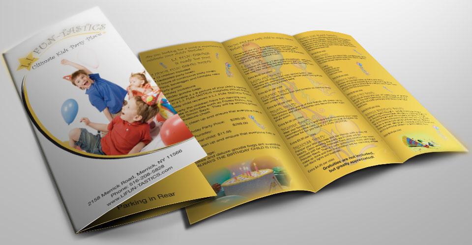 Custom brochure design services for business companies for Custom design services
