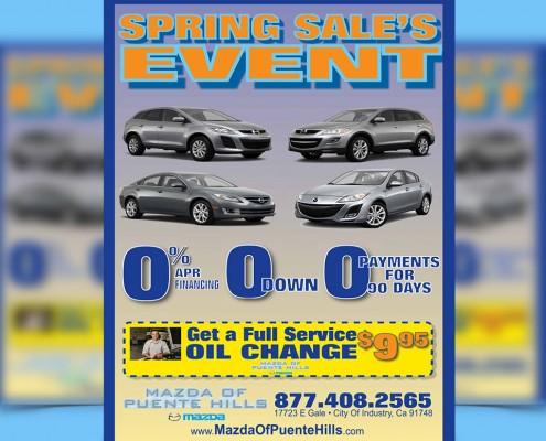 automotive direct mail marketing