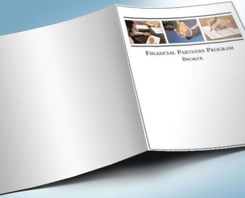 Pocket Folder Design Financial Services
