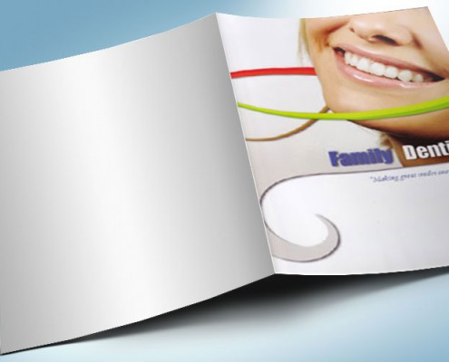 Pocket Folder Design Dentist