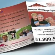 Pocket Folder Design Reverse Mortgage