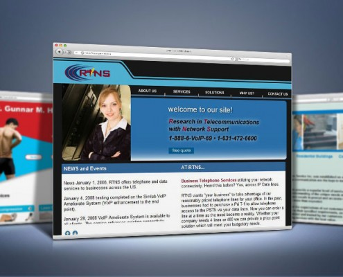Web Design for Telecommunication