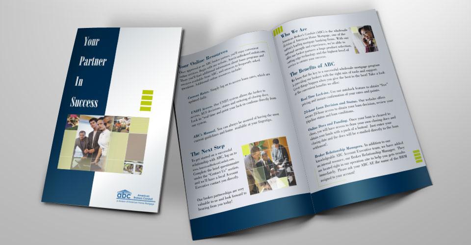 long island brochure design