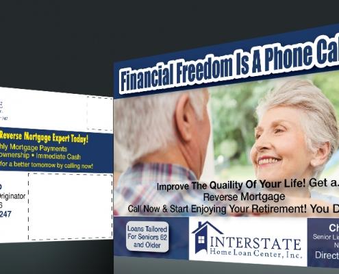 postcard mortgage materials and marketing
